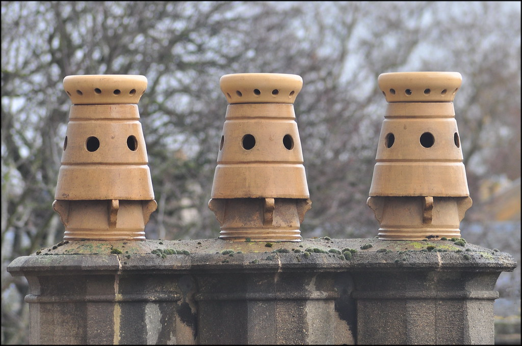 Chimney pots and cowls supplied across Belfast