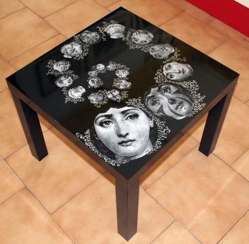 Tavolino da salotto Fornasetti | Mercante di Stelle Mercatino dell ...
