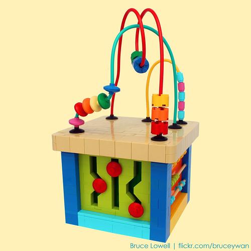 LEGO Bead Maze