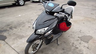My Honda Click, Rented from Buddy Motorbike Rental, Chiang Mai | by David McKelvey