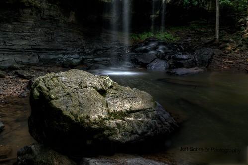 waterfall alabama falls welcome hdr
