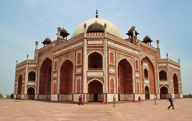 Tomb of Humayun, Delhi, India