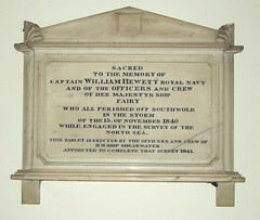 who all perished off Southwold in the storm of 13 November 1840