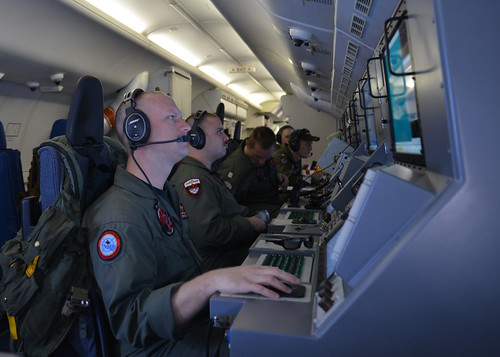 The U.S. Navy helps search for Malaysia Airlines flight MH370. | by Official U.S. Navy Imagery