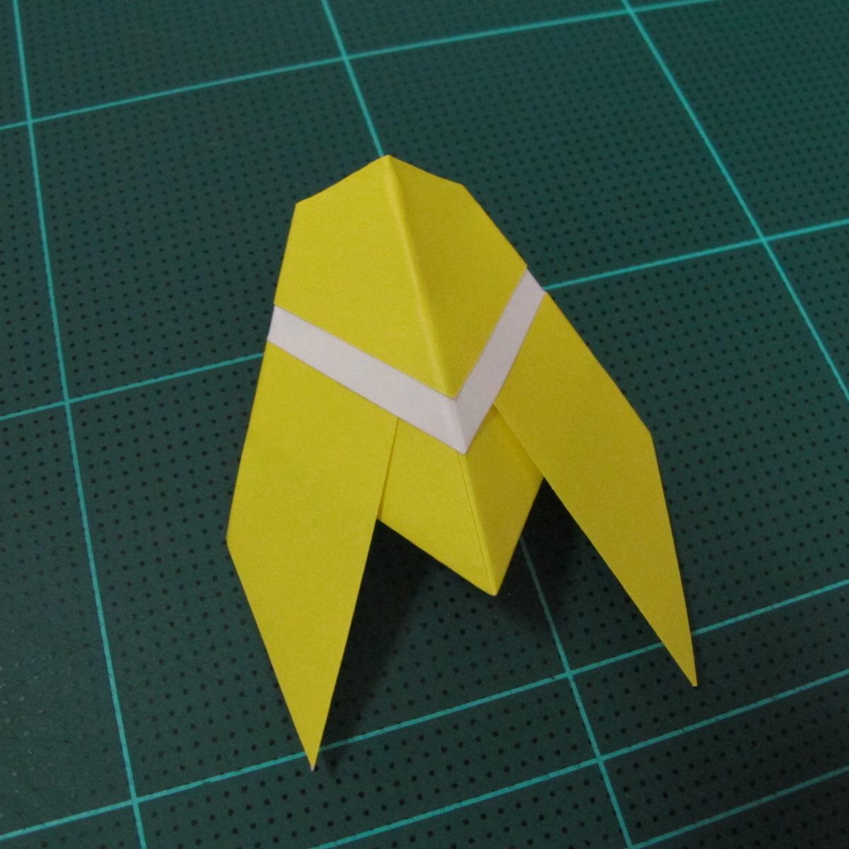 วิธีพับกระดาษเป็นรูปจั้กจั่น (Origami Cicada) 008