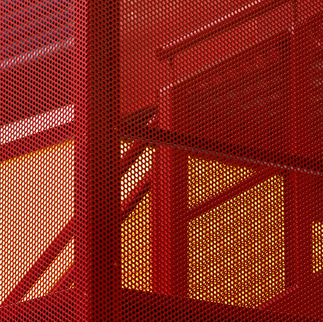 Red interferences (grids)