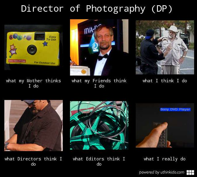Director of Photography - What I really do.