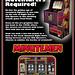 Watchmen, Minutemen Arcade Game, 2009