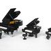Grand Pianos by mijasper