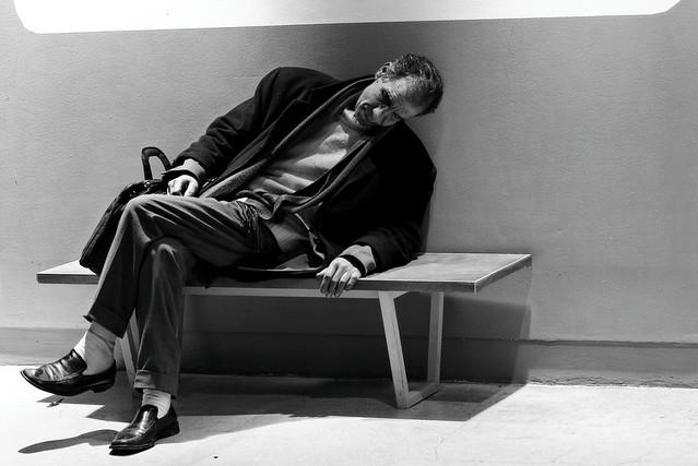 Et il dort au centre Pompidou...