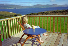 The deck at Dunmanus House
