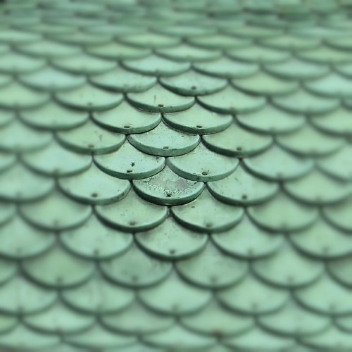 instantfave tiles green scales nails angelseyabbey macro roof curved oberflächen shockofthenew hypothetical