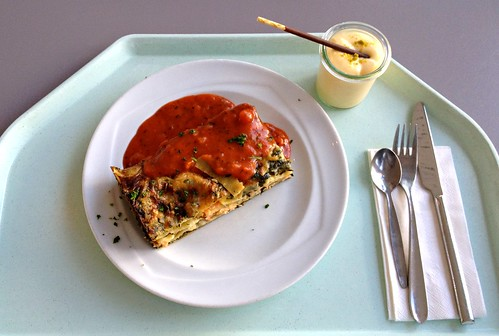 lachs spinat lasagne salmon spinach lasagne review jabb flickr