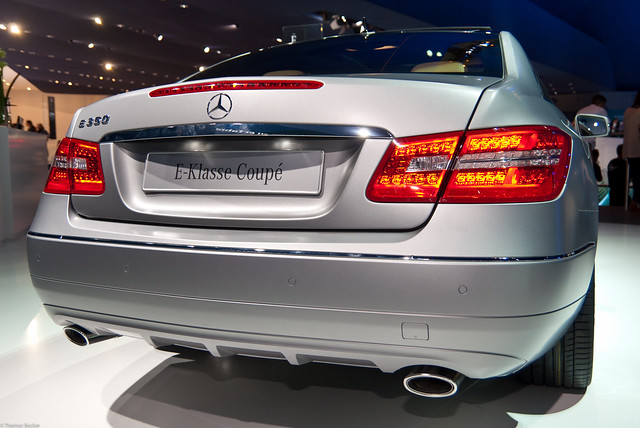 Mercedes-Benz E350 BlueEFFICIENCY Elegance Coupé (73093)