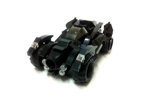 Arkham Knight : Batmobile (Brightness revised)