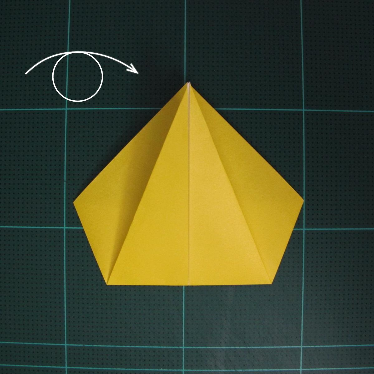 การพับฐานปลา (Oigami Fish Base) 004