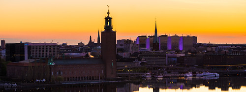 morning sky orange water skyline sunrise boat europe purple sweden stockholm cityhall sony sthlm hötorget sonyalpha sal70200g2 redfurwolf
