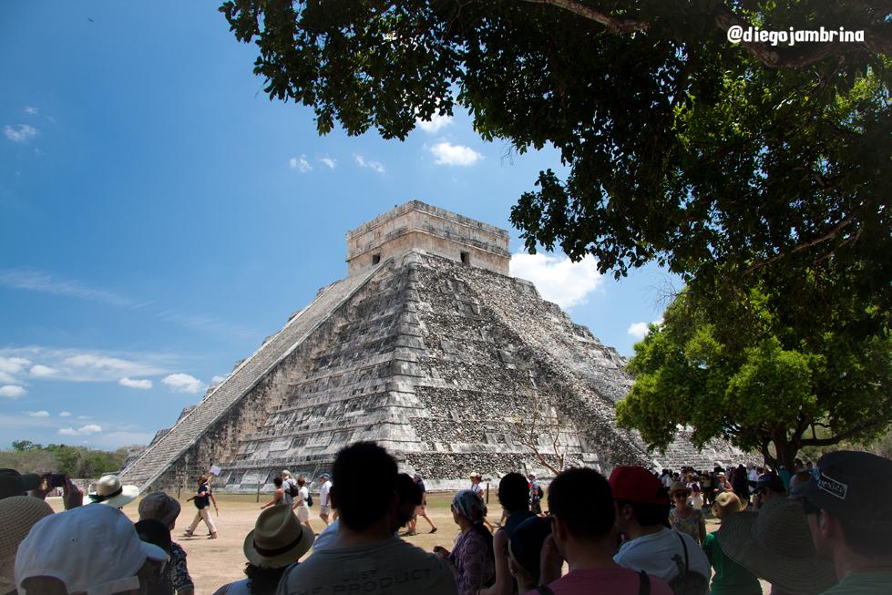 Viajar por la Riviera Maya con una cámara de fotos
