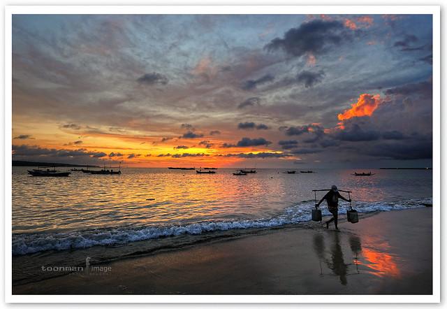 Bali - Jimbaran Beach Sunset
