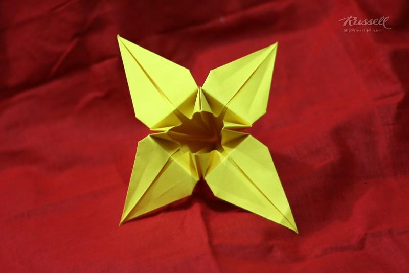 Origami Iris