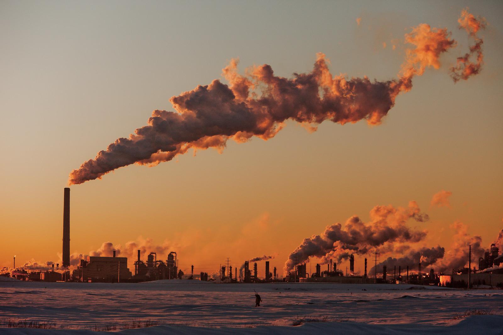 photo of oil refining