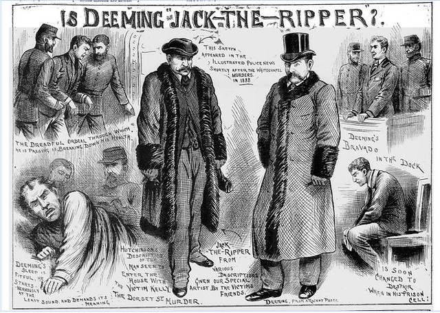 Deeming as Jack the Ripper Illustrated Police News, Saturday, April 16, 1892