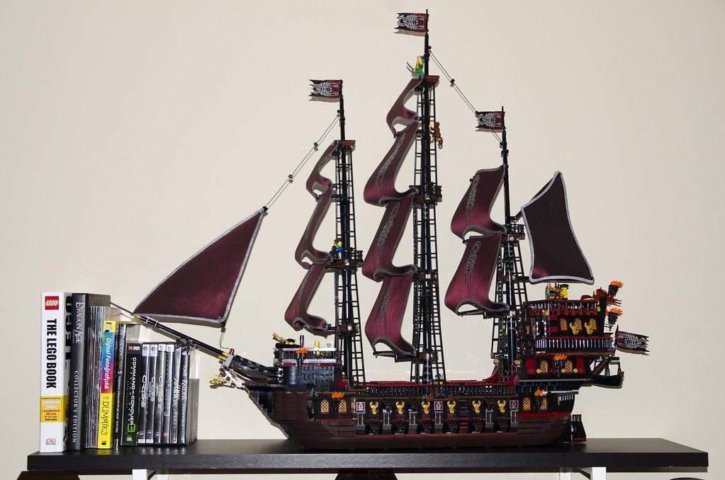 LEGO MOC-24382 Scorpion's Soul Pirate Ship (Pirates 2011