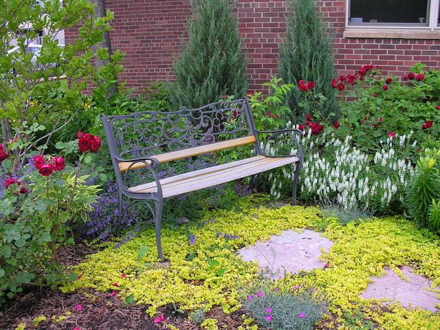 Garden Bench DeLaSalle High School