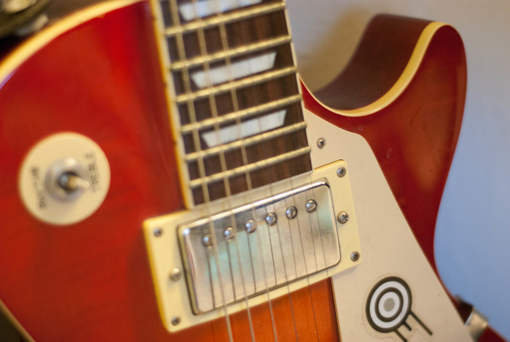 My Late 80's Epiphone Les Paul Standard (Solid Neck)   Flickr