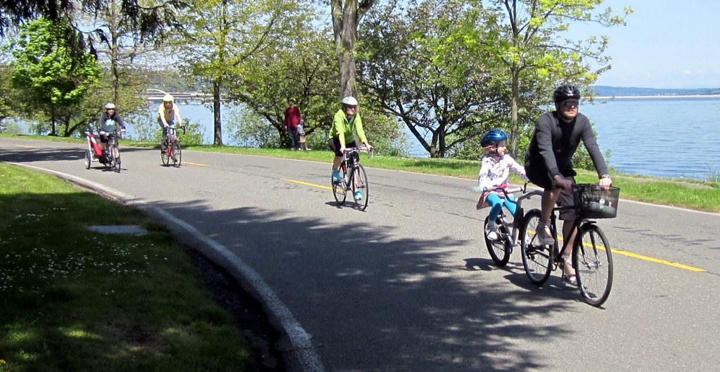 Biking families