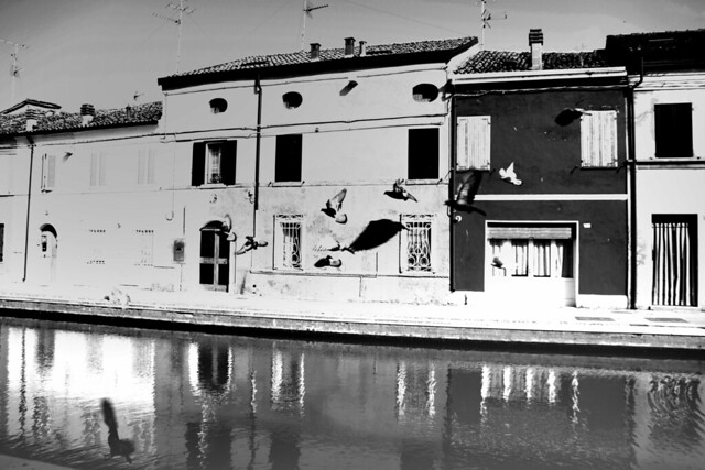 Greetings from Comacchio