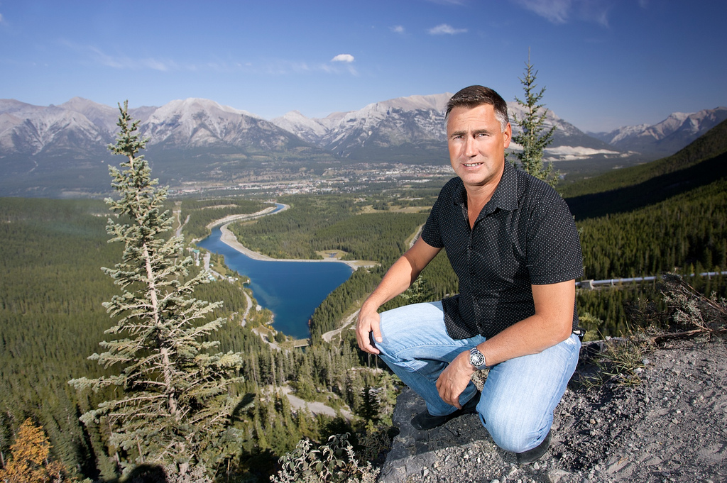 Frank Kernick and Canmore