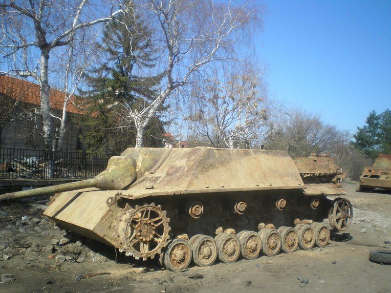 Jagdpanzer IV i Bulgarien
