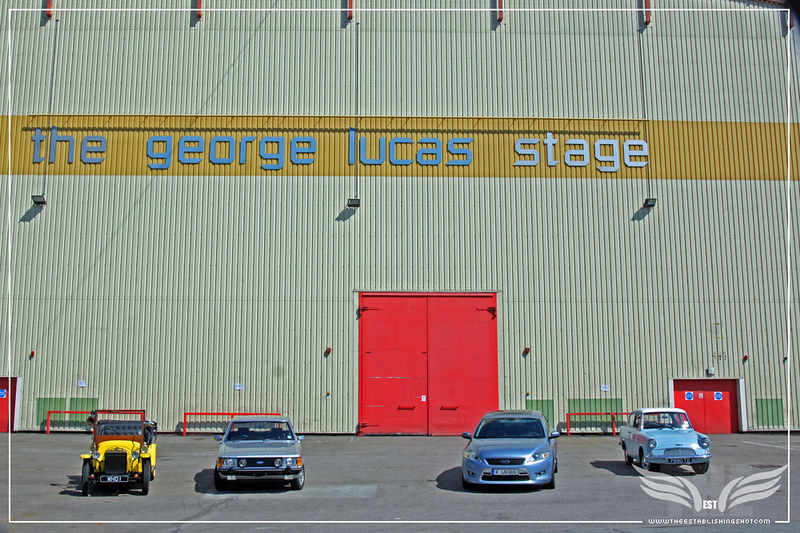 The Establishing Shot: Ford Centenary Tour at Elstree Studios on The George Lucas Stage