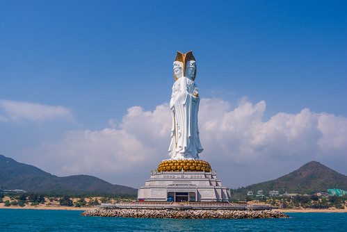 A Buddism godness Guanyin Bodhisattva of Hainan Sanya South China Sea | by llee_wu
