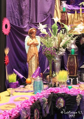 Detalles del Altar de Nuestra Señora de los Dolores o de los Siete Dolores - Puebla - México