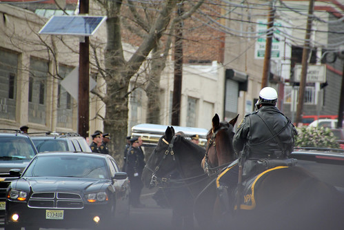 Whitney Houston's casket leaving New Hope Baptist Church after her funeral | by Explorations Media, LLC