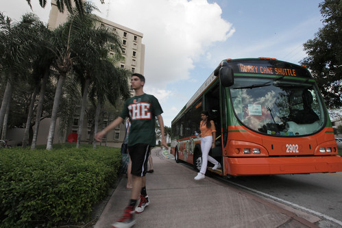 Hurricane Shuttle at University of Miami Open House