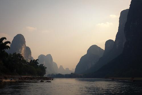 River cuts karst