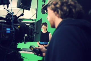 SyFy shoot for Lets Imagine Greater campaign | by arielwaldman