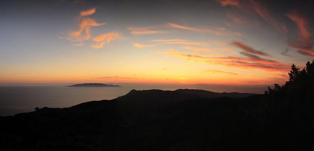 Silhouette, punta telegrafo -Monte Argentario-