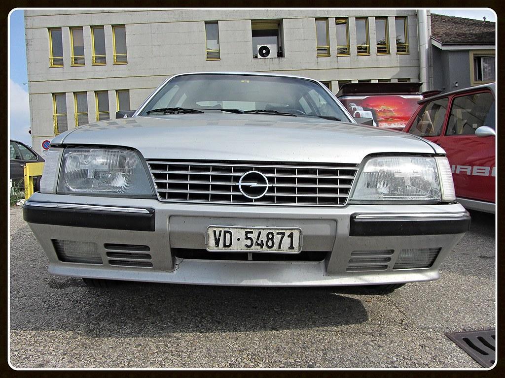 Opel Senator 2 5i A2 Bielles Cambouis Chavornay Flickr