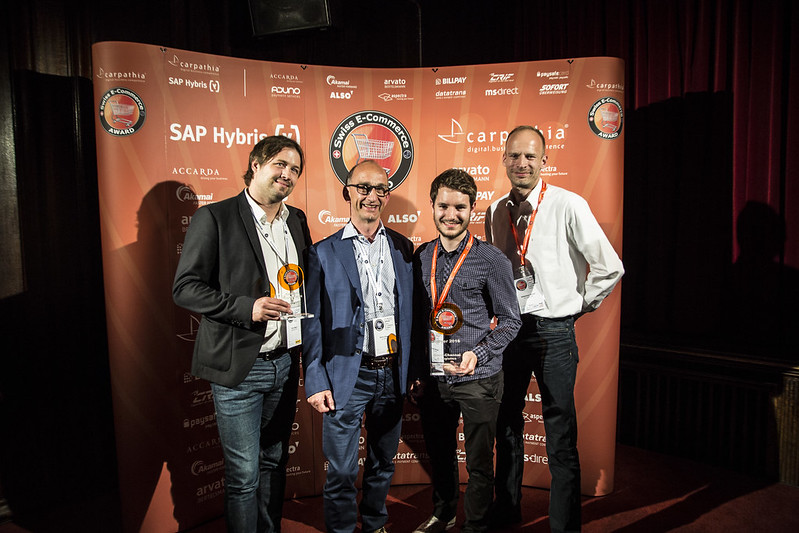 Swiss E-Commerce Award 2016
