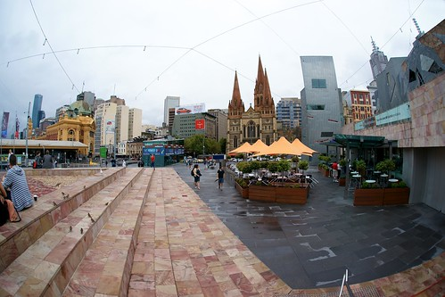 Federation Square looking to St Paul's, Melbourne | by Joe Lewit