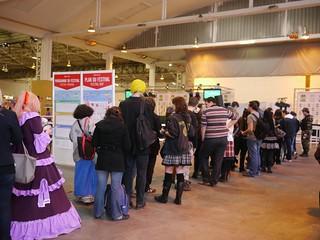 Japan Expo Sud - Ambiances - File d'attente dédicaces - 2012-03-04- P1350686 | by styeb