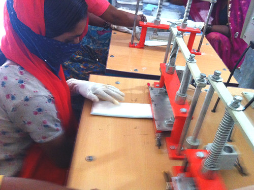 Sanitary Pad Production | by Barefoot Photographers of Tilonia
