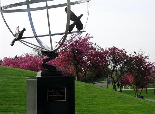 Peace Garden Statue