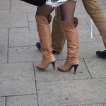 high heel over knee boots
