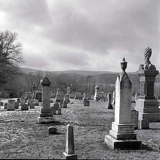 Graves in Myersville, MD