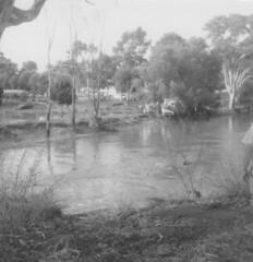 North Para flood caravan park